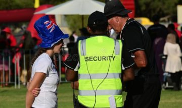event security assisting